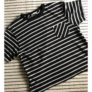 GU - ボーダー☆半袖Tシャツ