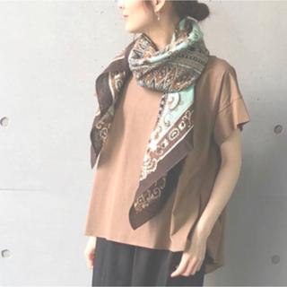 トゥモローランド(TOMORROWLAND)のmani puri スカーフ新品ゴシック大判ストール (バンダナ/スカーフ)