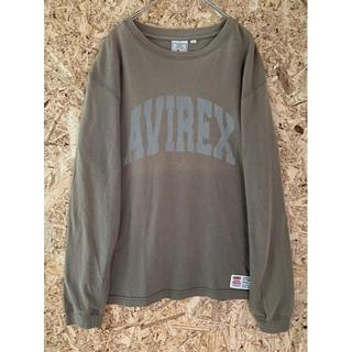 アヴィレックス(AVIREX)のAVILEX プリントTシャツ ロンT (Tシャツ/カットソー(七分/長袖))