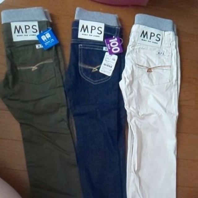 MPS(エムピーエス)のMPSsize100デニムパンツ  キッズ/ベビー/マタニティのキッズ服男の子用(90cm~)(パンツ/スパッツ)の商品写真