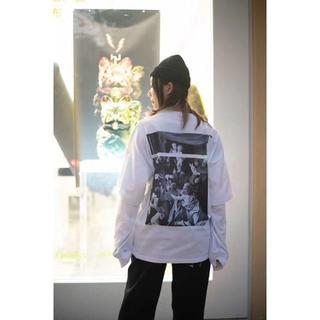 オフホワイト(OFF-WHITE)のoff-whiteオフホ ワイト tee(Tシャツ/カットソー(七分/長袖))