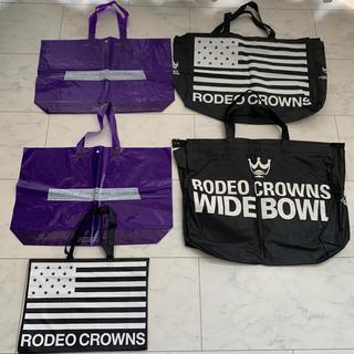 ロデオクラウンズワイドボウル(RODEO CROWNS WIDE BOWL)の☆即日発送☆RODEO CROWNS ショップ袋 5枚(ショップ袋)