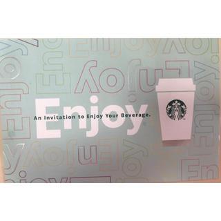 スターバックスコーヒー(Starbucks Coffee)のスタバ ドリンク チケット 千円分(フード/ドリンク券)