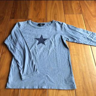 アニエスベー(agnes b.)のアニエス ロングTシャツ 星 10ans(Tシャツ/カットソー)