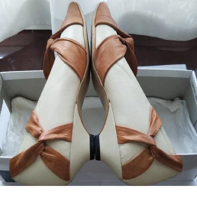 AU BANNISTER(オゥバニスター)のAU BANNISTER パンプス 38サイズ レディースの靴/シューズ(ハイヒール/パンプス)の商品写真