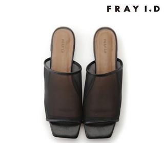 フレイアイディー(FRAY I.D)のFRAY I.D / フレイ アイディー シースルーフラットサンダル(サンダル)