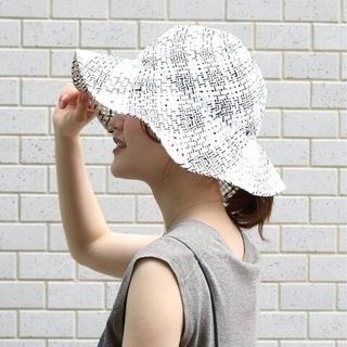 イエナ(IENA)の【La Maison de Lyllis/ラメゾンドリリス】LETTER(麦わら帽子/ストローハット)