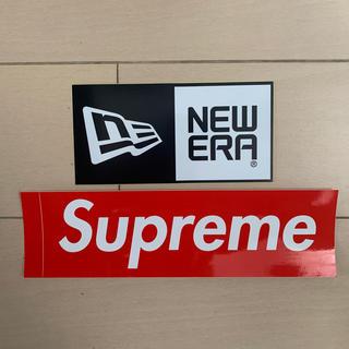 Supreme - Supreme/シュプリーム&NEW ERA/ニューエラ ステッカーセット