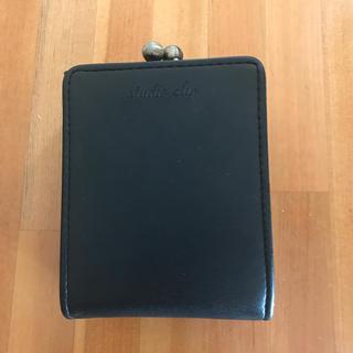 スタディオクリップ(STUDIO CLIP)の財布 コンパクト 黒(折り財布)