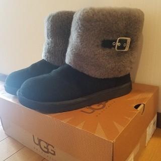 UGG - UGG ブーツ ショート  エリー 黒 25センチ