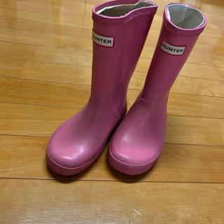 ハンター(HUNTER)のレインブーツ  ハンター ピンク 長靴 女の子(長靴/レインシューズ)