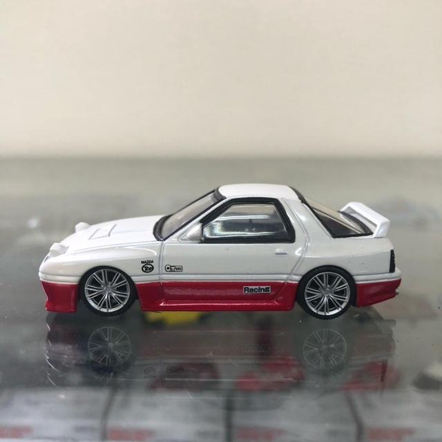 AOSHIMA(アオシマ)のシャコタンブキ ミニカー RX7 エンタメ/ホビーのおもちゃ/ぬいぐるみ(ミニカー)の商品写真