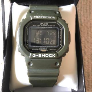 ジーショック(G-SHOCK)のG-SHOCK DW-5600FS カーキ モスグリーン キムタク 着用(腕時計(デジタル))