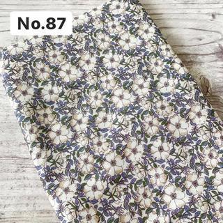 ダブルガーゼ 生地 リバティ May Morris 巾54×50cm(生地/糸)