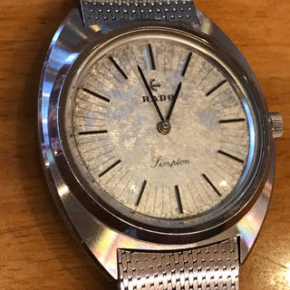 ラドー(RADO)のラドー超ヴィンテージ レア手巻き時計(腕時計(アナログ))