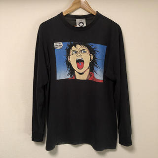 90s anarchic adjustment AKIRA Tシャツ 鉄雄 L