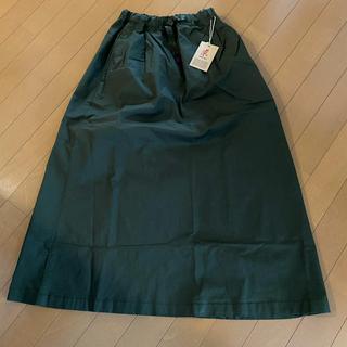 グラミチ(GRAMICCI)の新品 グラミチ ロングスカート S オリーブ(ロングスカート)