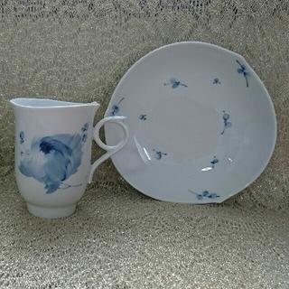 マイセン(MEISSEN)のMEISSEN カップ&ソーサー 青い花(食器)