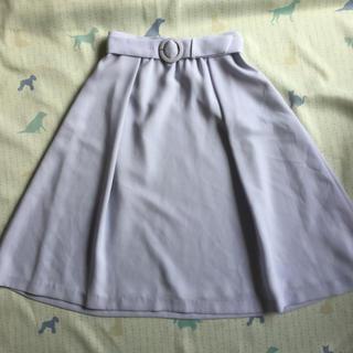 レッセパッセ(LAISSE PASSE)のHARYU  レッセパッセ ロングフレアスカート サイズ38 M 共布ベルト付(ロングスカート)