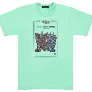 新品 24時間TV チャリTシャツ ミント XL(Tシャツ/カットソー(半袖/袖なし))