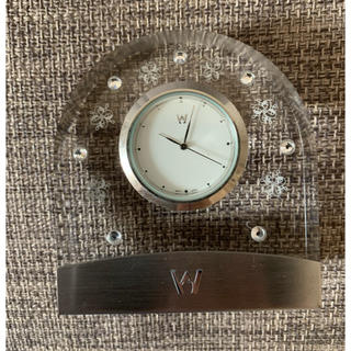 ウェッジウッド(WEDGWOOD)のウエッジウッド 置き時計(置時計)