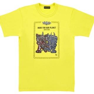 新品 24時間TV チャリTシャツ イエロー XL(Tシャツ/カットソー(半袖/袖なし))