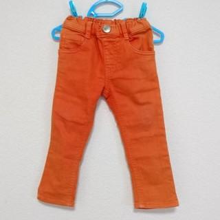 ムージョンジョン(mou jon jon)のムージョンジョン キッズ 男の子 長ズボン パンツ オレンジ 90㎝(パンツ/スパッツ)