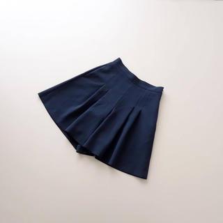 フォクシー(FOXEY)の■FOXEY NY■ 38 濃紺キュロットパンツ ミッドナイトブルー(キュロット)