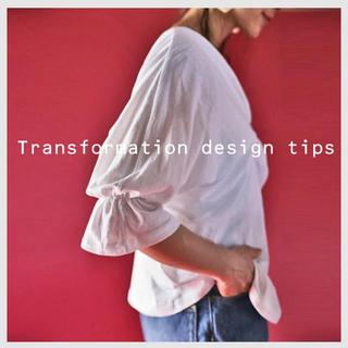 アンティカ(antiqua)の変形トップス 袖デザイン(Tシャツ(半袖/袖なし))