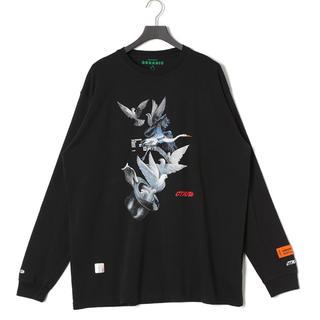 オフホワイト(OFF-WHITE)のheron preston ヘロンプレストン tシャツ(Tシャツ/カットソー(七分/長袖))