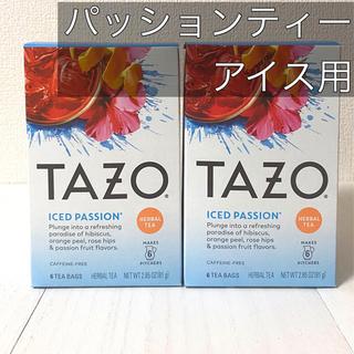 スターバックスコーヒー(Starbucks Coffee)のTAZO ティー  iced Passion 2箱セット アイスティー(茶)
