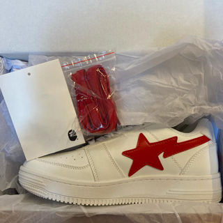 アベイシングエイプ(A BATHING APE)のBAPE X COCA COLA BAPE STA LOW WHITE (スニーカー)