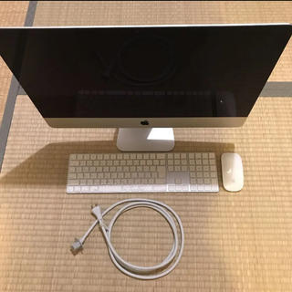 マック(Mac (Apple))のI Mac retina 4K 21.5インチ Apple 2015(デスクトップ型PC)