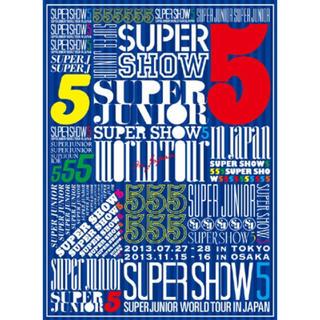 スーパージュニア(SUPER JUNIOR)のSUPER SHOW 5 初回限定盤DVD(アイドル)