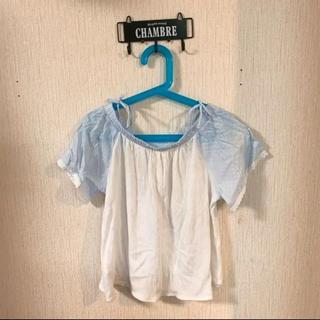 ザラ(ZARA)のZARA kids 可愛いオフショルトップス Tシャツ(Tシャツ/カットソー)