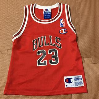NBA ユニフォーム シカゴブルズ マイケルジョーダン チャンピオン3T キッズ(バスケットボール)