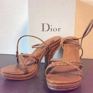 ディオール(Dior)のクリスチャンディオール サンダル(サンダル)