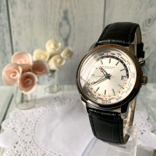 バーバリー(BURBERRY)の【電池交換済】BURBERRY バーバリー ロンドン 腕時計 ワールドタイム(腕時計(アナログ))