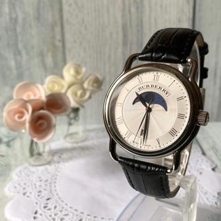 BURBERRY - 【電池交換済】BURBERRY バーバリー BU1219 腕時計 ムーンフェイズ