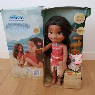 ディズニー(Disney)の  トドラードール モアナ & プア ディズニープリンセス 人形(キャラクターグッズ)