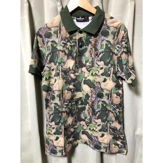 アベイシングエイプ(A BATHING APE)の古着 Nowhere ノーウェア アベイシングエイプ カモフラ 半袖 ポロシャツ(ポロシャツ)