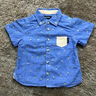 クレードスコープ(kladskap)のkladskap☆シャツ☆半袖☆90センチ(ブラウス)