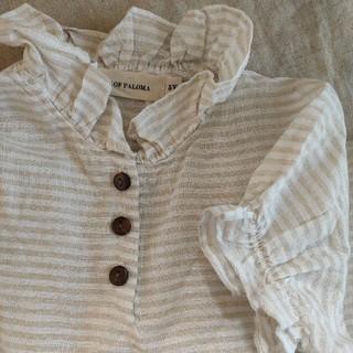 キャラメルベビー&チャイルド(Caramel baby&child )の【HOUSE OF PALOMA】半袖リネントップス 5Y(Tシャツ/カットソー)