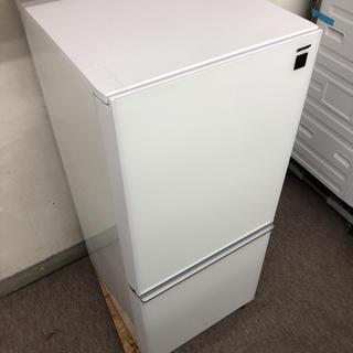 SHARP - 極上品 SHARP ガラストップ冷凍冷蔵庫 SJ-GD14C-W 2017年