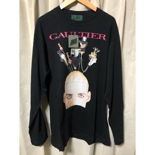 ジャンポールゴルチエ(Jean-Paul GAULTIER)のVintage 古着 未使用品 JUNIOR GAULTIER 長袖 Tシャツ(Tシャツ/カットソー(七分/長袖))