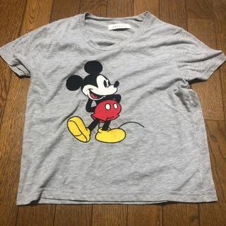 ダズリン(dazzlin)のミッキーグレーTシャツ(Tシャツ(半袖/袖なし))