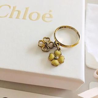 クロエ(Chloe)のクローバーモチーフリング(リング(指輪))