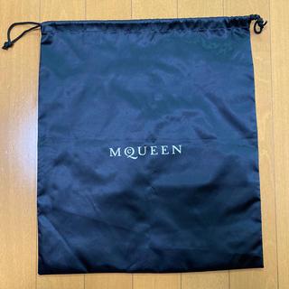 Alexander MCQUEEN  ナイロン巾着 35×40