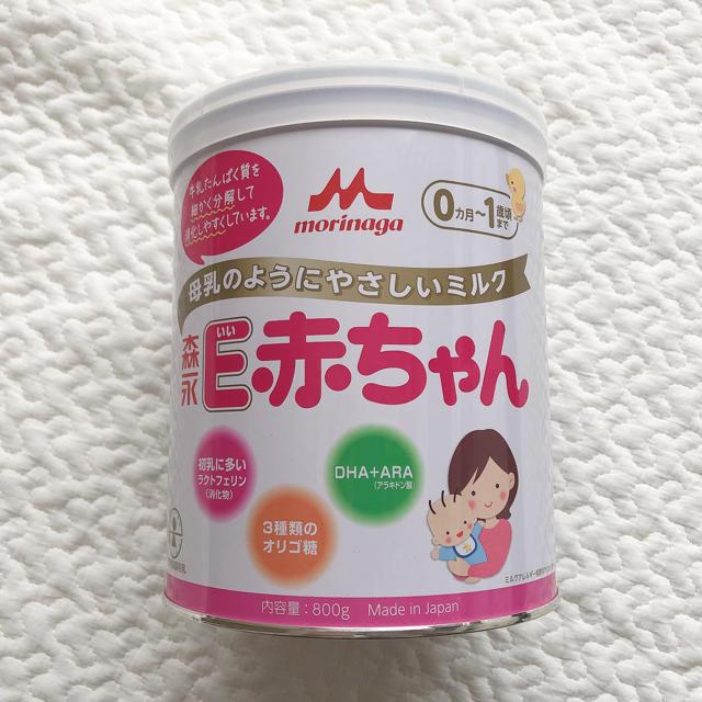 森永乳業(モリナガニュウギョウ)のE赤ちゃん 800gミルク缶 キッズ/ベビー/マタニティの授乳/お食事用品(その他)の商品写真