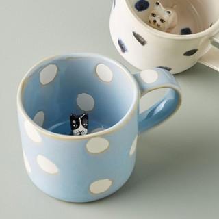 アンソロポロジー(Anthropologie)のアンソロポロジー 猫マグカップ(グラス/カップ)